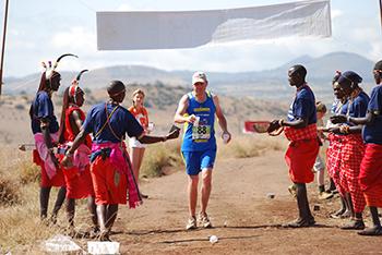 Safaricom Marathon Water Station